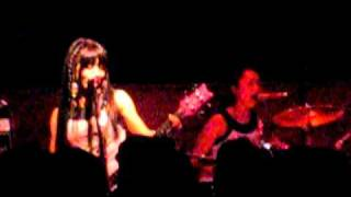 "Shonen Knife, new song, ""Move On"",  at Schubas in Chicago"