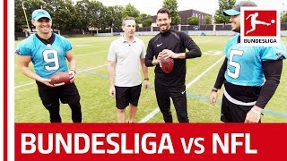 New Career For Roman Bürki? BVB Keeper Competes With NFL Stars