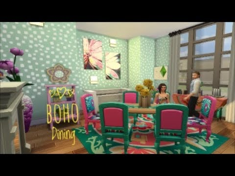 Boho Dining Room (Challenge Entry) Speed Build
