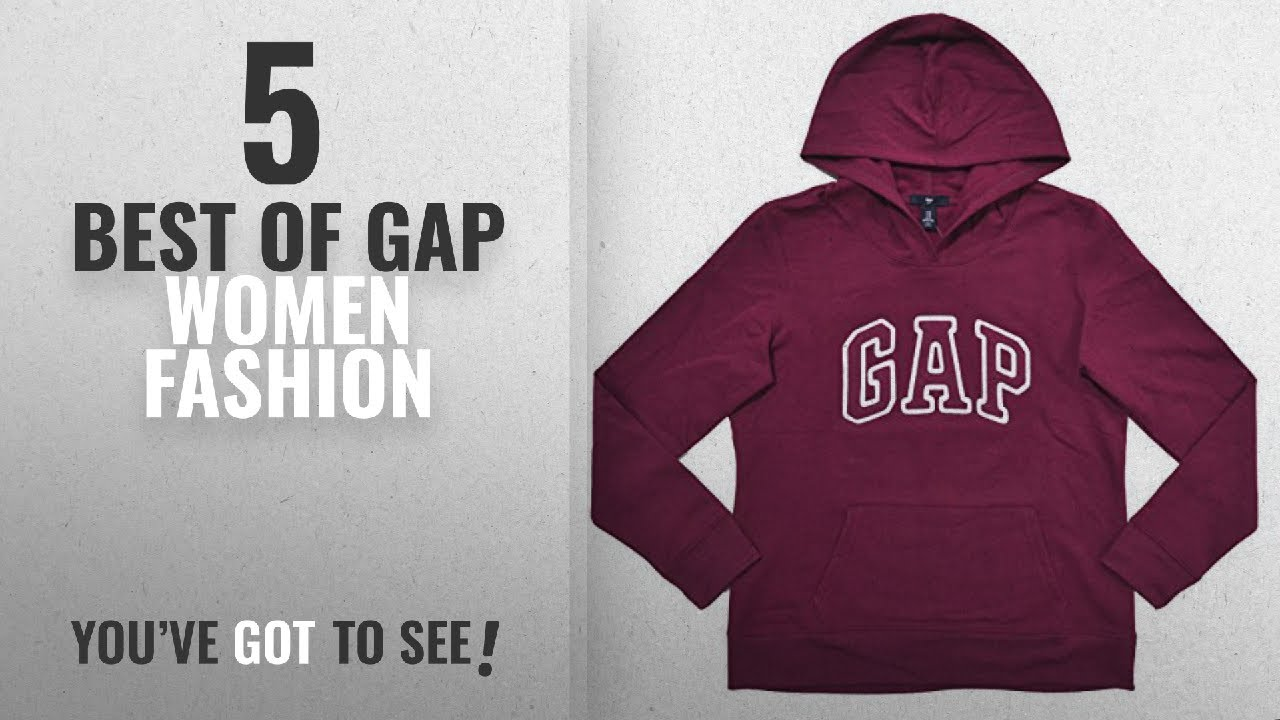 a065b7df153 Gap Women Fashion  2018 Best Sellers   GAP Womens Fleece Arch Logo ...