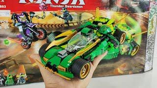 Ráp Lego Ninjago Siêu Xe Bóng Đêm Của Lloyd