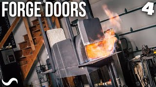 MAKING FORGE DOORS!!! Part 4