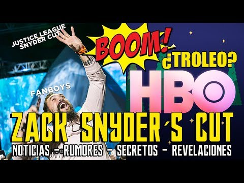 ¿ESPERANZA? HBO - JUSTICE LEAGUE ZACK SNYDER CUT - WARNER - SUPERMAN  - LIGA JUSTICIA