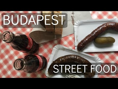 Premed Travel Vlog 015: Hungry in Hungary, BUDAPEST STREET FOODS