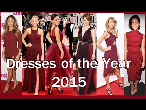 5b4682cec73d 21 CELEBRITy DRESSES of 2015 MARSALA COLOR OF THE YEAR - YouTube