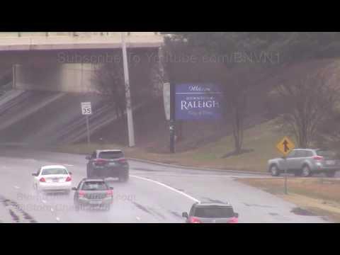 Raleigh, NC Southern Snow - 12/9/2017