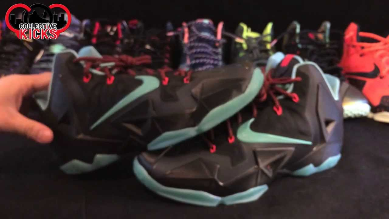 058fc70739ce Nike Lebron XI (11) Diffused Jade Review! - YouTube