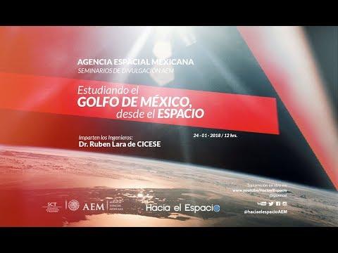 """Seminario """"Estudiando el golfo de México desde el espacio"""""""