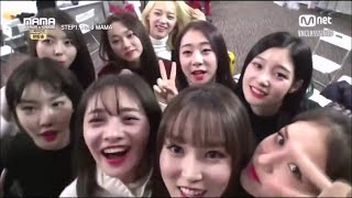 [ENG SUB] 161209 MAMA Behind the Scenes - I.O.I backstage with GFRIEND Full Cut