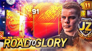 PACKER 91 RATED WALKOUT & HEADLINER! 🏆🔥 JZANDE FC - Road To Glory 🏆 #11