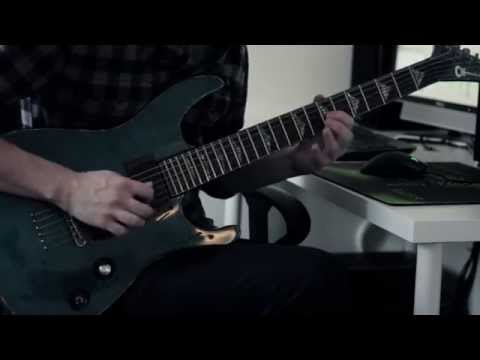 The Black Dahlia Murder - Into The Everblack (Guitar Solo) Tab + Backing Track