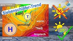 Einschätzung zum Siebenschläfer 2020: normaler Sommer mit Kühle, Hitze, Sonne, Regen und Gewittern.