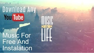 Download Download YouTube music for free
