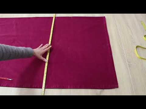 Как подшить низ шторы в домашних условиях