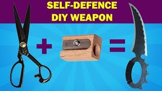 Build Your Diy Weapon For Self Defence [Easy]