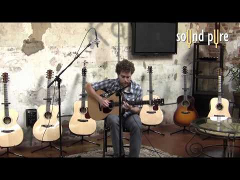 Collings OM2H Sitka Spruce, Indian Rosewood Acoustic Guitar Demo & Review
