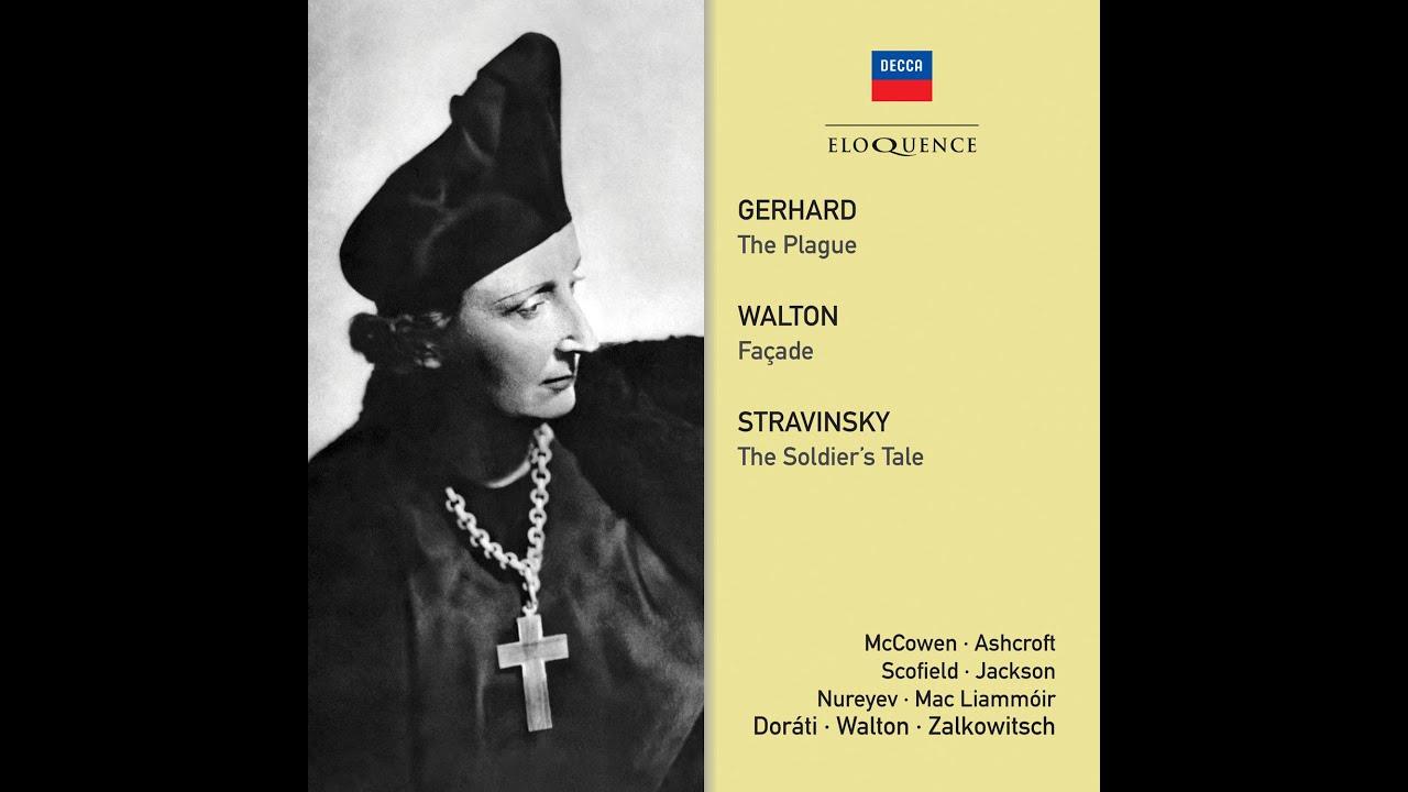 Eloquence Classics Release Batch 3, 2021 - Gerhard: The Plague; Walton: Façade