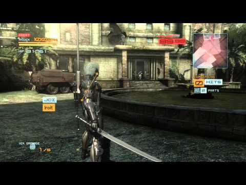 Now Playing.. Metal Gear Rising Revengeance |
