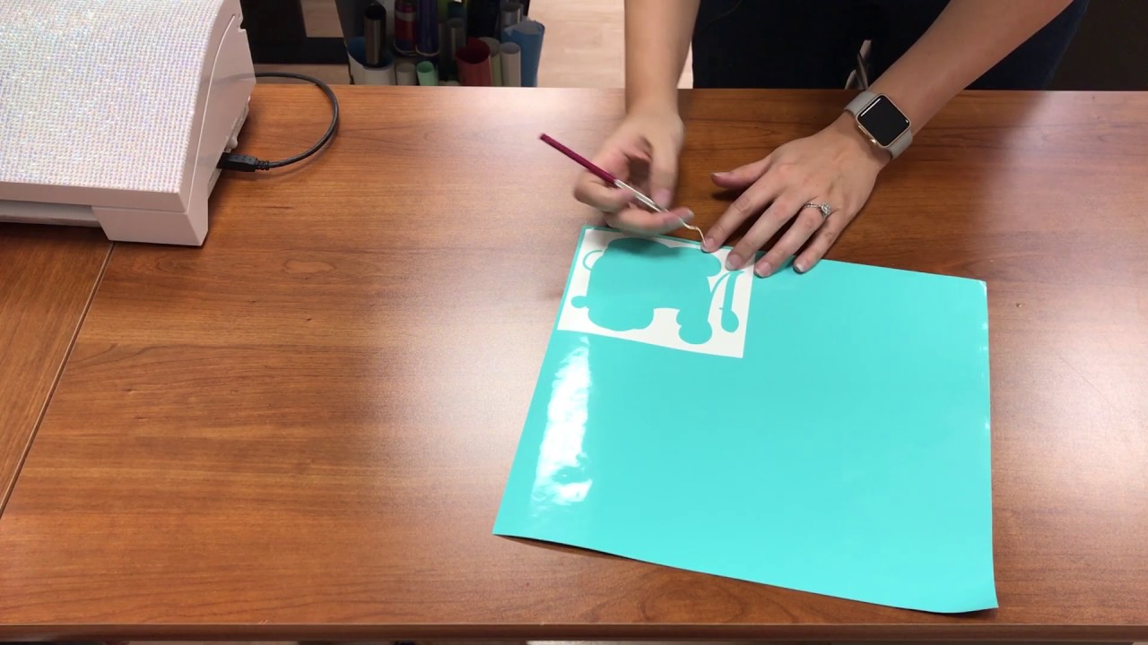 How To Make Your First Decal With The Silhouette Cameo YouTube - How to make vinyl decals with silhouette cameo