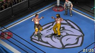 Power Move Pro Wrestling Mat03 Demo - Fire Pro Wrestling World