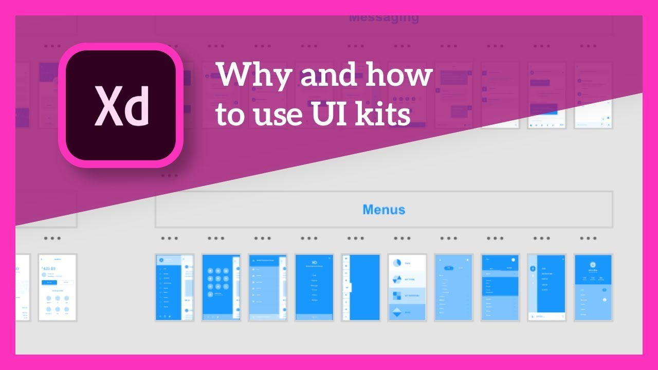 Why and how to use UI kits in Adobe XD