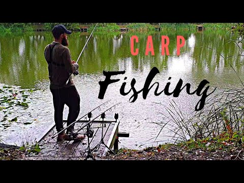 CARP Fishing - A Rainy Day In Norwich, Norfolk - RIGS AND BAITS