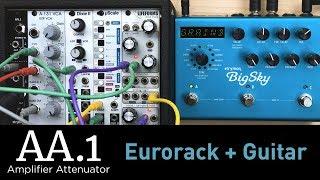 Strymon AA.1 Amplifier Attenuator Eurorack Module - Demo