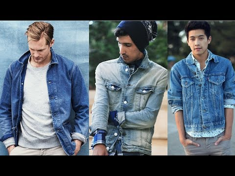 Denim Jacket Outfits For Men 2018 New Fashion Tips For Men Youtube