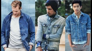 Denim Jacket Outfits For Men/2018 New Fashion Tips For Men