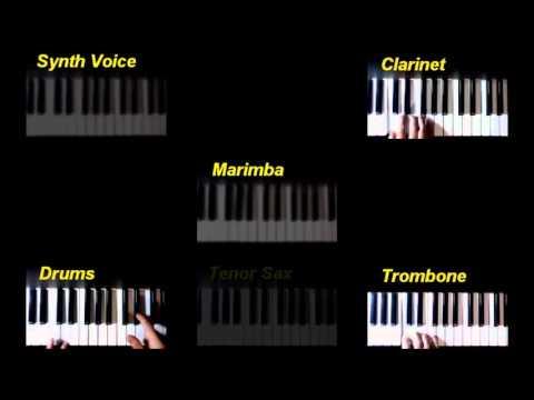 Grunty Industries (Banjo-Tooie, N64) - All tracks on keyboard