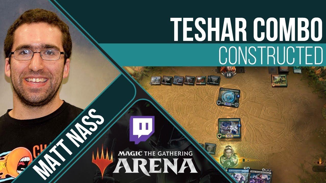 Teshar Combo – Standard   Channel Matt Nass