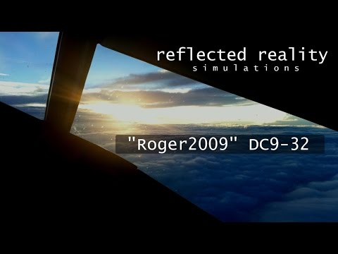DC9 Part 4 - LIBD Non Precision VOR Approach [X-Plane]