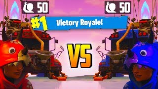 DINOSAURS 50 V 50 Gamemode (V2) In Fortnite Battle Royale! // Xbox VS PC Players Challenge //