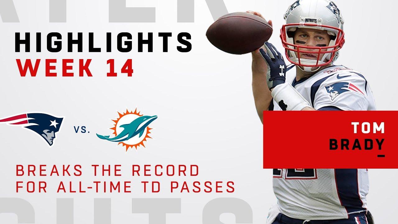Tom Brady Highlights from Record-Breaking Day vs. Miami