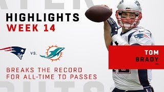 Tom Brady Highlights from Record-Breaking Day vs. Miami