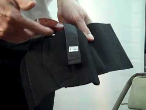 How to Wear a DeSantis 062 Apache Ankle Rig Holster