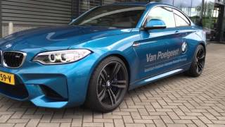 bmw m2 f87 coupe accelerations and sound