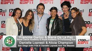 Alicia Champion/Danielle Lopresti on SD Indie Fest & Francine Garton/Maria De La Paz on RDA & RAPA