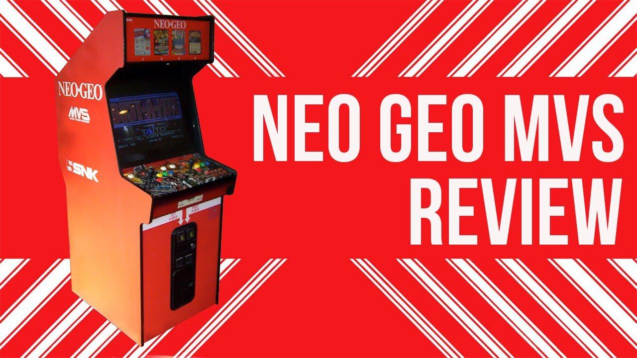 Tour of Neo Geo MVS Cabinet - YouTube