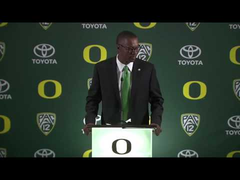 Willie Taggart makes opening statement as Oregon Ducks head football coach