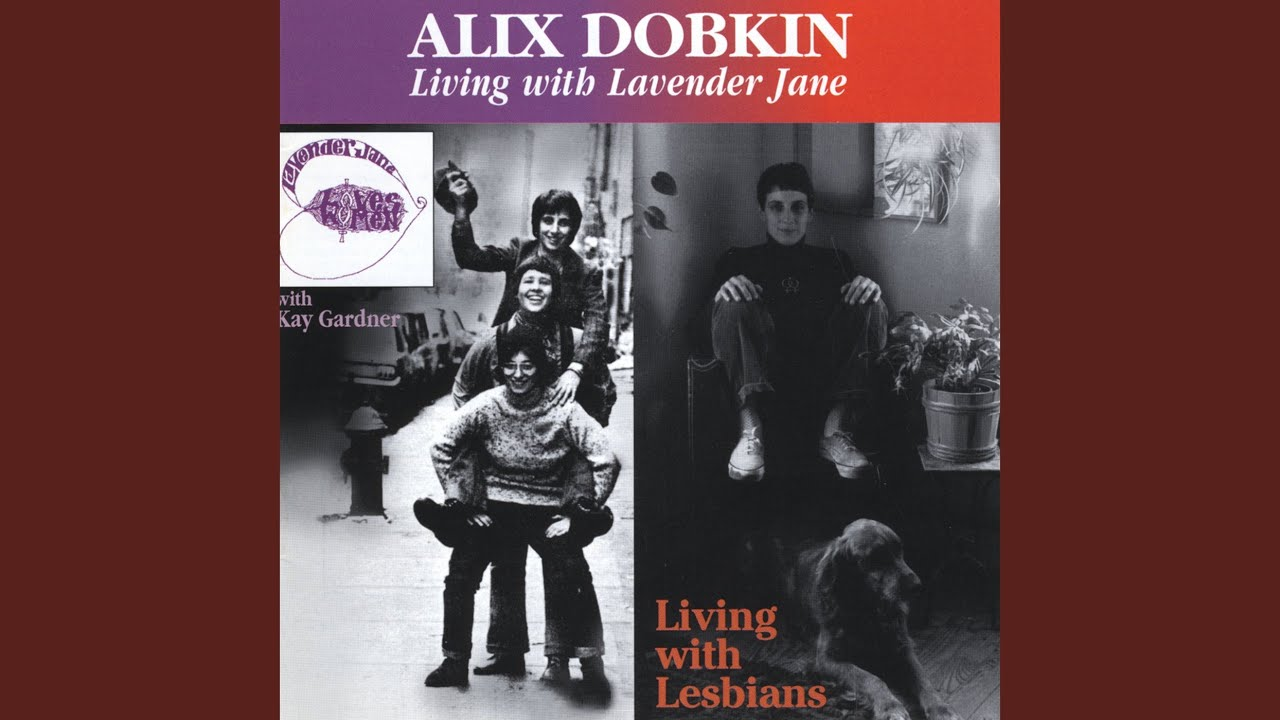 Album Cover Alix Dobkin Living With Lesbians featuring th.