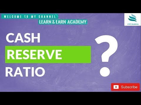 What is CRR ? || Cash Reserve Ratio ||