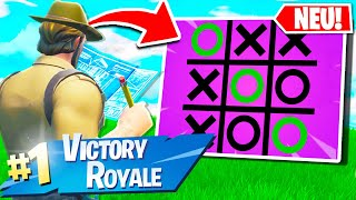 Tic Tac Toe Modus in Fortnite Battle Royale! mit Avive!