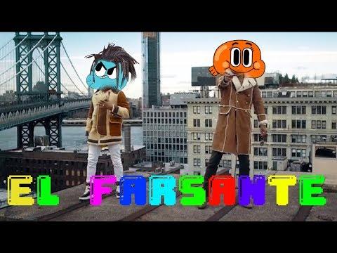 Gumball sing El Farsante Remix by Ozuna x Romeo Santos [Cartoon Cover]