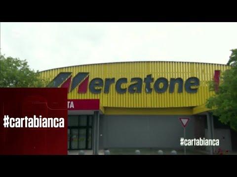 Mercatone Uno: Chiusura Improvvisa - #cartabianca 28/05/2019