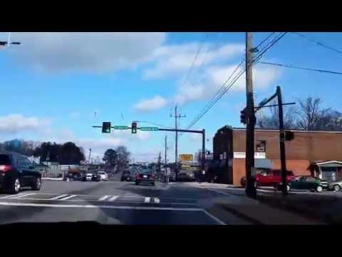 Riding through Tucker  Georgia !