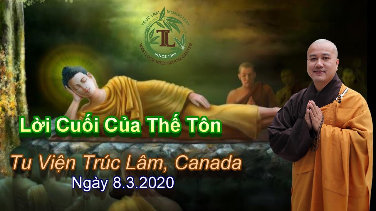 Lời Cuối Của Thế Tôn – Thầy Thích Pháp Hòa ( Ngày 8.3.2020 )