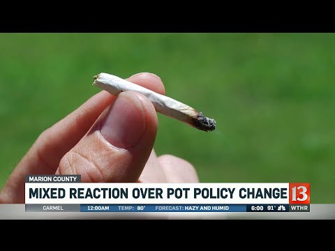 Crystal - VIDEO:  Weed Now Decriminalized In Marion County