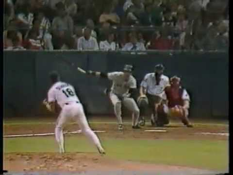 Marv Albert 1986 baseball bloopers on NBC