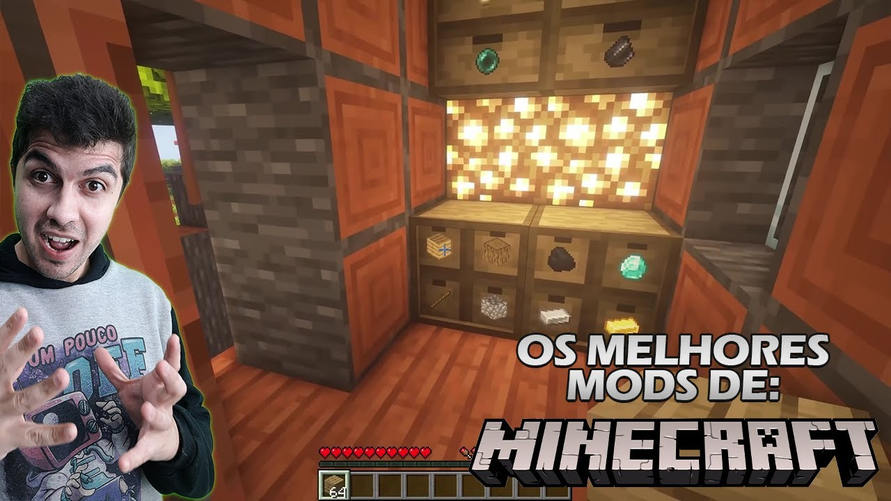 Melhores Mods de Minecraft #2 #shorts